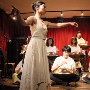 音と踊る(Koji Matsumoto Handpan school concert)